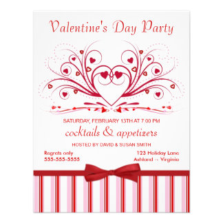 Valentine s Day Cocktail Party Invitations