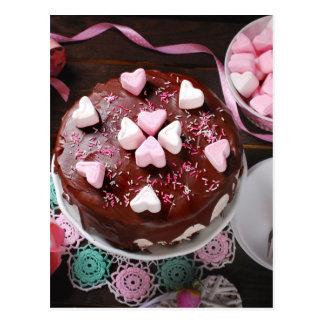 Valentine' S Day: Coffee & Chocolate Eight Postcard