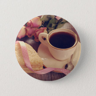 Valentine' S Day: Coffee & Chocolate Eleven Button