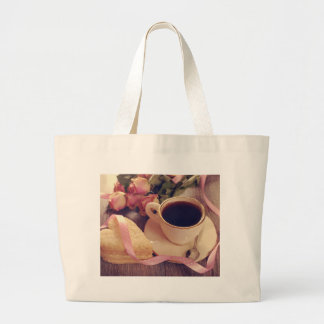 Valentine' S Day: Coffee & Chocolate Eleven Large Tote Bag