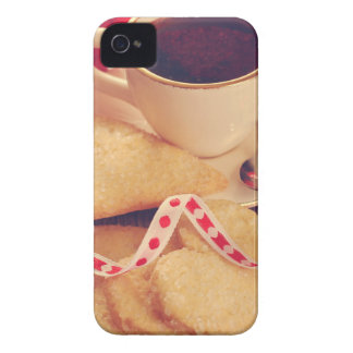 Valentine' S Day: Coffee & Chocolate Five iPhone 4 Case