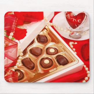 Valentine' S Day: Coffee & Chocolate Sixteen Mouse Pad
