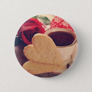 Valentine' S Day: Coffee & Chocolate Twelve Button