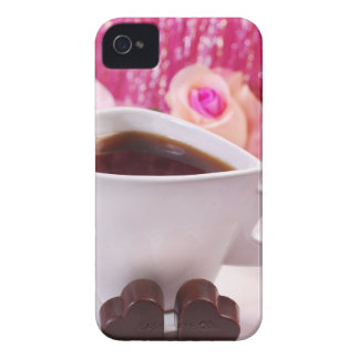Valentine' S Day: Coffee & Chocolate Two iPhone 4 Case
