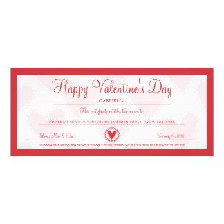 Valentine s Day Coupon Invitation
