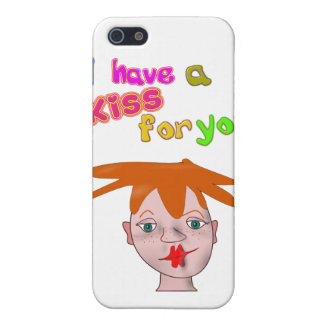Valentine's Day funny kiss 4/4s  Case For iPhone SE/5/5s