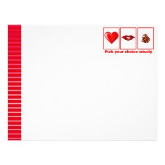Valentine's Day funny Letterhead