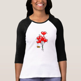 Valentine s Day Heart Balloons Shirts