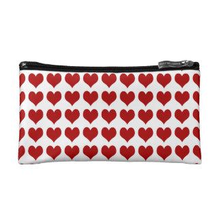 Valentine's Day Heart Makeup Bag