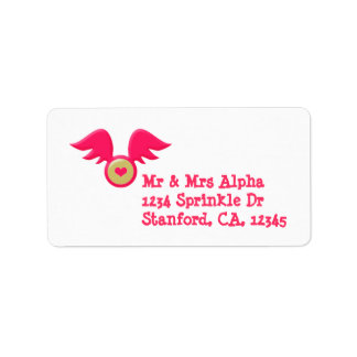Valentine's Day Label Address Label