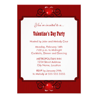 Valentine s Day Party Invitation