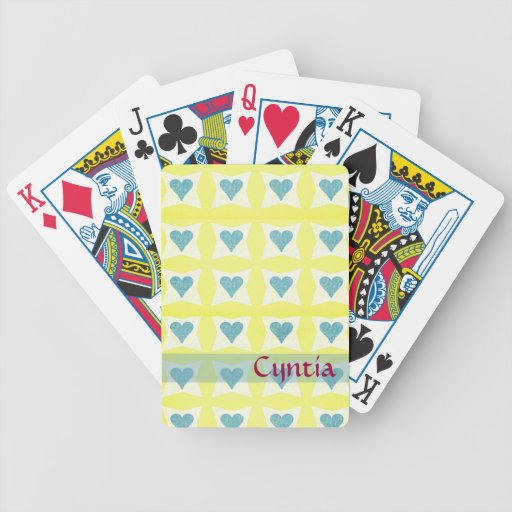 Valentine's Day Playing Cards Bicycle Playing Cards