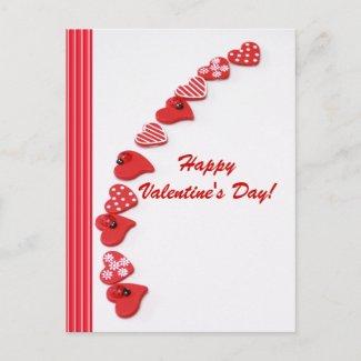 Valentine's Day Postcard postcard