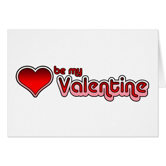 Valentine's Day Seventies Retro Greeting Card