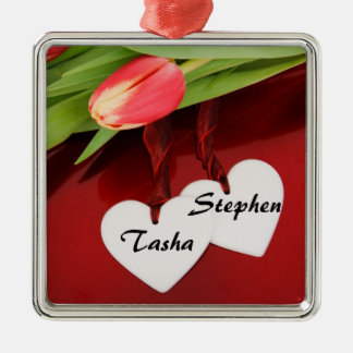 Valentine s day Sweetheart Gift Metal Ornament