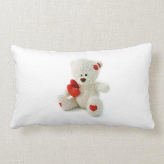 Valentine's Day Teddy Bear Pillow