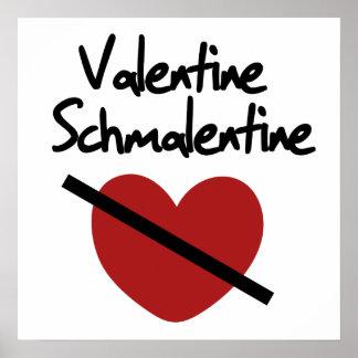 Valentine Schmalentine Posters