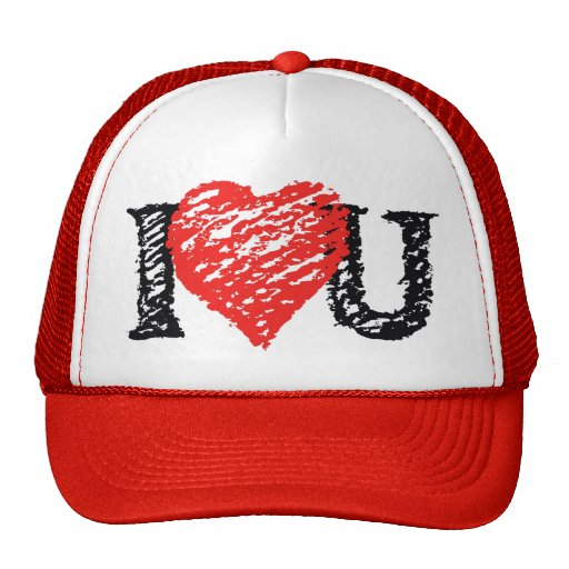 Valentine Scribble Cap