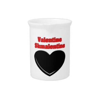 Valentine Shmalentine Drink Pitchers
