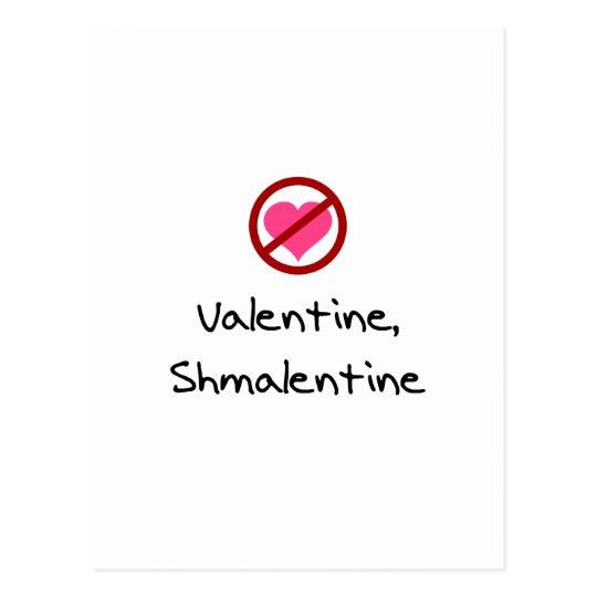 Valentine, Shmalentine Postcard