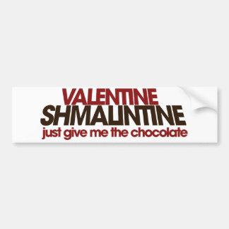 Valentine Shmalintine Bumper Sticker
