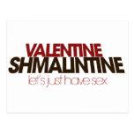 Valentine Shmalintine Postcard