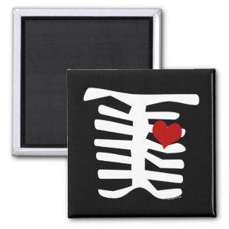 Valentine Skeleton Fridge Magnets