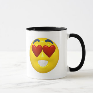 Valentine Smiley Mug
