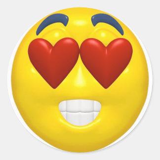 Valentine Smiley Sticker
