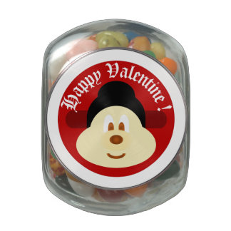 Valentine Souvenir - Chn Male Hat 鲍 鲍 Glass Jar