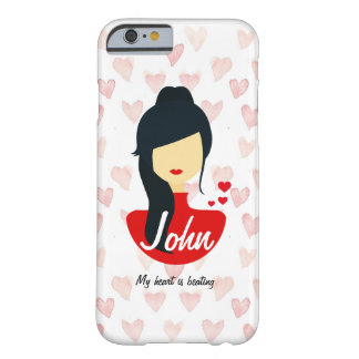 Valentine Special personalized Barely There iPhone 6 Case