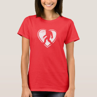 Valentine Squatch T-shirt
