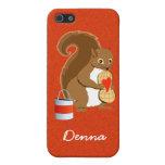 Valentine squirrel 2 iPhone 5 cover