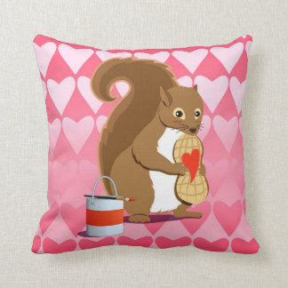 Valentine squirrels 2 pillows