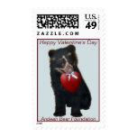 Valentine Stamp Andean Bear Foundation