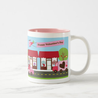 Valentine Street Personalized Mug