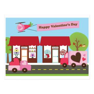 Valentine Street postcard