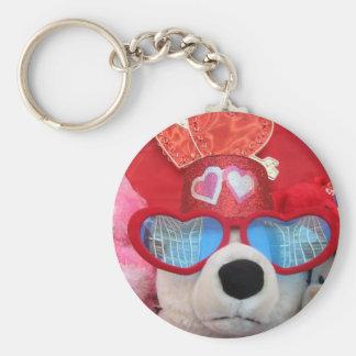 Valentine Stuffed Animals Keychain