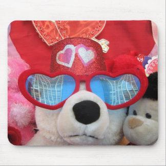 Valentine Stuffed Animals Mouse Pad