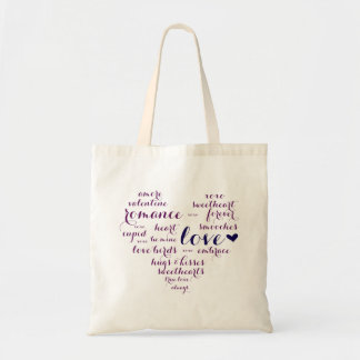 Valentine Subway Art Love Tote Welcome Bag
