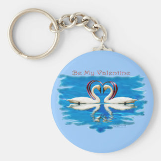 Valentine Swan Collection Key Chain