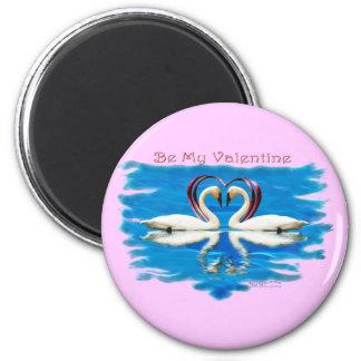 Valentine Swan Collection Magnet