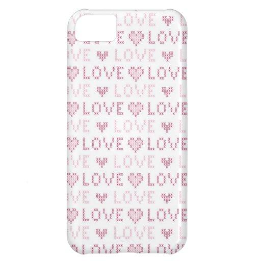 VALENTINE SWEATER iPhone Cases Case For iPhone 5C