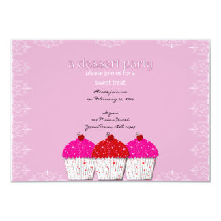 Valentine Sweet Cupcake Invitation