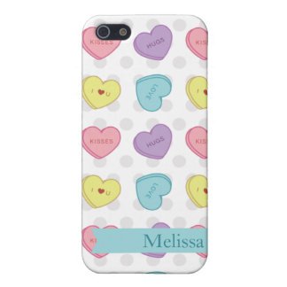Valentine Sweetarts IPhone Case