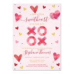 Valentine Sweetheart Baby Shower Invitation