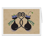 Valentine Sweetheart Kitties Card