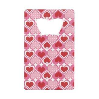 Valentine Sweethearts Wallet Bottle Opener