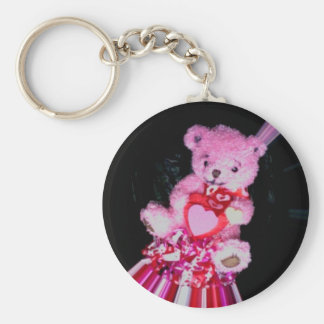 valentine teddy Photo 10273 Keychain