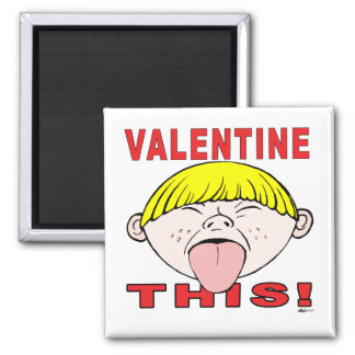 Valentine This!  Boy Fridge Magnet